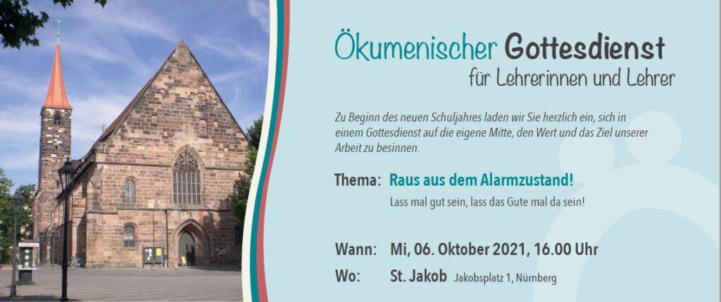 Bild Flyer Ökumenischer Gottesdienst